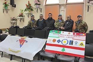ASSOCIAZIONE AMPIO RAGGIO IN LIBANO: CONSEGNATI I COMPUTER PER L'ALLESTIMENTO DI UN'AULA INFORMATIZZATA