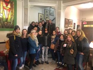 MONTREAL: STUDENTI EUROPEI IN VISITA AL CRAIC