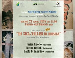 """""""NELL'ATERNO SCORRE MUSICA"""": IL FESTIVAL AQUILANO ALLA 12^ EDIZIONE"""