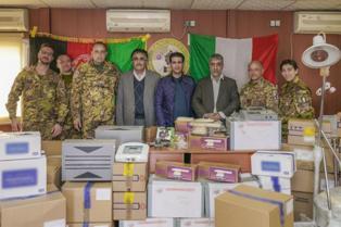 AFGHANISTAN: CIMIC A SOSTEGNO DEL DIPARTIMENTO SANITÀ DI HERAT