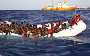 L'UNHCR CHIEDE UN'AZIONE URGENTE PER I NAUFRAGI AL LARGO DELLA LIBIA