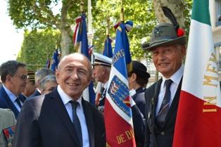 GLI ALPINI A LIONE PER LA FESTA NAZIONALE FRANCESE