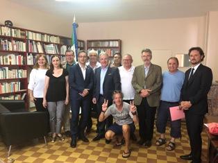 """RIUNIONE INTERCOMITES DI FRANCIA: BILLI (LEGA) """"COMUNITÀ ITALIA IMPORTANTE PONTE COMMERCIALE CON IL PAESE D'OLTRALPE"""""""