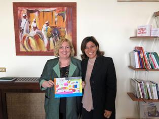 IL VICE MINISTRO DEL RE SEMPRE VICINA ALLA SCUOLA STATALE ITALIANA DI ASMARA