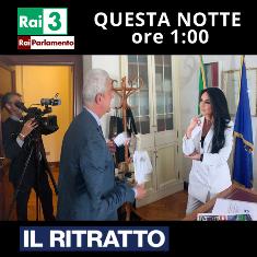 """""""IL RITRATTO"""" DI FRANCESCA ALDERISI (FI) QUESTA NOTTE SU RAI 3"""