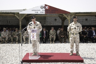MISSIONE IN IRAQ: CAMBIO AL VERTICE DELLA TASK FORCE PRAESIDIUM
