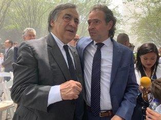 IL SINDACO DI PALERMO ORLANDO OSPITE A MEDELLIN