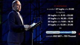 """""""VERITÀ E DRAMMA DELL'IMMIGRAZIONE E DELLE GUERRE"""" IN ESCLUSIVA SUL CANALE UNINETTUNOUNIVERSITY.TV IL RACCONTO DI ROBERTO SAVIANO"""