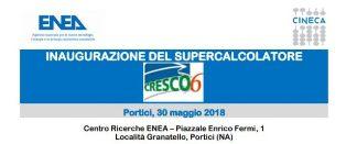 """""""CRESCO6"""": IL 30 MAGGIO L'INAUGURAZIONE DEL SUPERCALCOLATORE DELL'ENEA"""