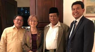 IL MINISTERO DELLA CULTURA INDONESIANA PREMIA LA COMUNITÀ DI SANT