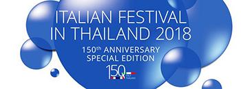 """WAITING FOR RIFLESSI"": ARNALDO DE FELICE A BANGKOK PER L'ITALIAN FESTIVAL IN THAILAND 2018"