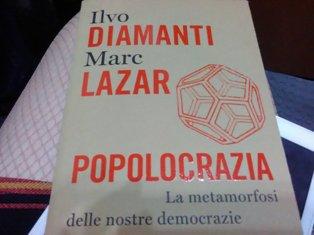 """POPOLOCRAZIA: IL LIBRO DI MARC LAZAR ALLA """"DANTE"""" DI ROMA"""