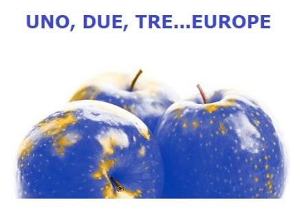"""AL VIA IL CONCORSO """"1, 2, 3, EUROPE"""""""