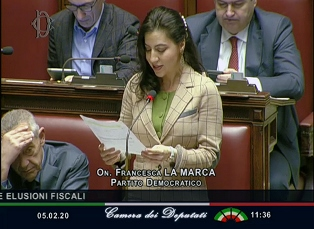 """TRATTATO ITALIA – COLOMBIA: LA MARCA (PD) INTERVIENE IN AULA PER CONFERMARE IL """"SÌ"""" PD"""
