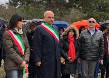 VIRGINIA RAGGI ALLA FOIBA DI BASOVIZZA PER I PERCORSI DIDATTICI PROMOSSI IN COLLABORAZIONE CON L'ANVGD
