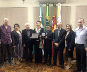 IL SINDACO DI AURONZO DI CADORE IN TRASFERTA IN BRASILE PER IL 10° ANNIVERSARIO DEL GEMELLAGGIO CON ILOPOLIS
