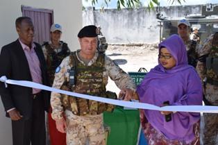 MISSIONE IN SOMALIA: INAUGURATO IL NUOVO PROGETTO CIMIC