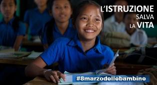 """UNICEF #8MARZODELLEBAMBINE: NUOVO RAPPORTO """"POSSO ESSERE QUELLO CHE VOGLIO"""""""