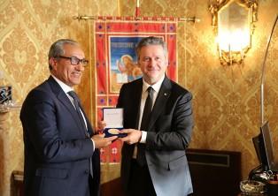 CIAMBETTI (CR VENETO) INCONTRA IL PRESIDENTE DELLA COMMISSIONE UE-MAROCCO ATMOUN