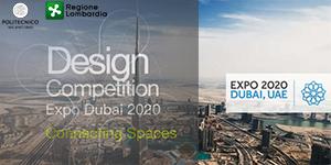 """EXPO DUBAI 2020: MAGONI (LOMBARDIA) PRESENTA """"DESIGN COMPETITION"""""""
