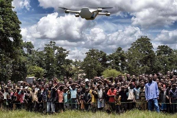 UNICEF: TEST CON CORRIDOI DI DRONI PER INIZIATIVE UMANITARIE ANCHE IN SIERRA LEONE