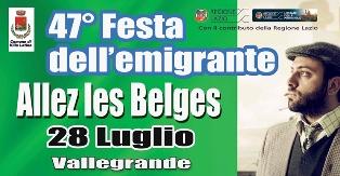 DOMENICA A VILLA LATINA (LAZIO) LA 47^ FESTA DELL'EMIGRANTE