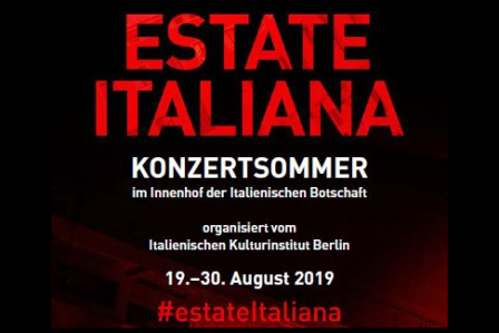 ESTATE ITALIANA: I CONCERTI ALL'AMBASCIATA DI BERLINO