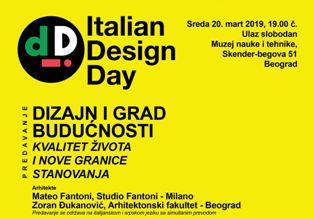 MATTEO FANTONI ALL'IIC DI BELGRADO PER L'ITALIAN DESIGN DAY