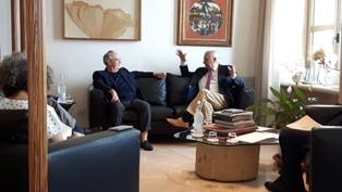 PUGLIA: VISITA IN PRESIDENZA DELL'AMBASCIATORE DEL CILE SERGIO ROMERO PIZARRO