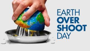 OVERSHOOT DAY/ WWF: OGGI UMANITÀ HA ESAURITO BUDGET ANNUALE DEL PIANETA