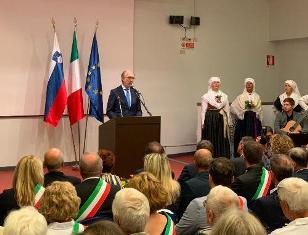 FRIULI-SLOVENIA/ RICCARDI: DIALOGO E RISPETTO SONO LEVE PER FUTURO DI PACE