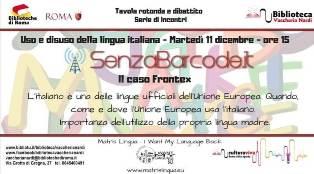 IL CASO FRONTEX: A ROMA UNA SERIE DI INCONTRI SU LINGUA ITALIANA E UNIONE EUROPEA