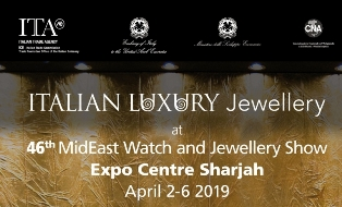 CNA A SHARJAH PER LA 46ESIMA EDIZIONE MIDEAST WATCH AND JEWELLERY SHOW
