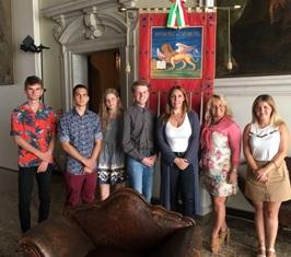 VENETO-POLONIA: STUDENTI ERASMUS IN VISITA IN REGIONE CON L'ASSOCIAZIONE SINERGIA