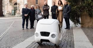 YAPE: IL SISTEMA A GUIDA AUTONOMA ITALIANO VINCE IL GERMAN DESIGN AWARD 2019