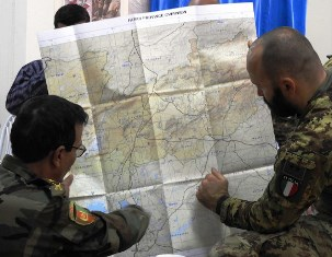 AFGHANISTAN: CONCLUSA LA SECONDA FASE DELL'EXPEDITIONARY ADVISORY PACKAGE ITALIANO