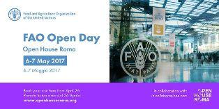 """""""OPEN HOUSE ROMA"""": LA FAO APRE PER LA PRIMA VOLTA LE PORTE AL PUBBLICO"""