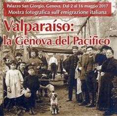 """""""VALPARAISO: LA GENOVA DEL PACIFICO"""": MARTEDÌ L'INAUGURAZIONE"""