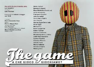 THE GAME: A MASSA L'ARTE SI FA GIOCO