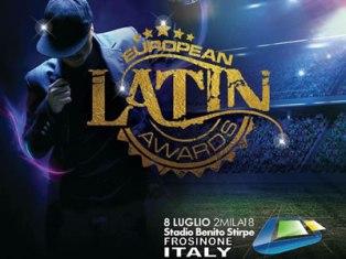 """GLI """"EUROPEAN LATIN AWARDS"""" SBARCANO IN ITALIA: APPUNTAMENTO L'8 LUGLIO A FROSINONE"""