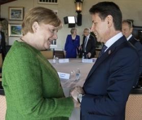 DOMANI A BERLINO IL PREMIER CONTE INCONTRERÀ LA CANCELLIERA MERKEL