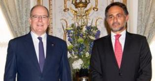 PRINCIPATO DI MONACO: L'AMBASCIATORE ALAIMO PRESENTA LE LETTERE CREDENZIALI AL PRINCIPE ALBERTO II