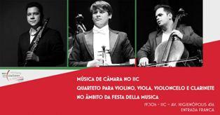 SAN PAOLO: CICLO DI MUSICA DA CAMERA ALL'IIC