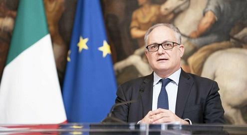 GUALTIERI: LA COMMISSIONE UE SOSTIENE LE POLITICHE DELL'ITALIA PER IL LAVORO E L