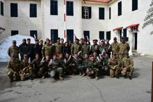 LIBANO: CERIMONIA DI CHIUSURA DEI CORSI DI ADDESTRAMENTO DELLE TRUPPE DA MONTAGNA
