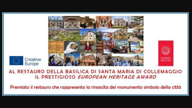 "CELEBRATI I VINCITORI ITALIANI DI ""EUROPA NOSTRA AWARD 2020"""