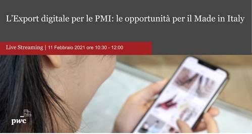 Export digitale: le opportunità per il Made in Italy secondo PwC