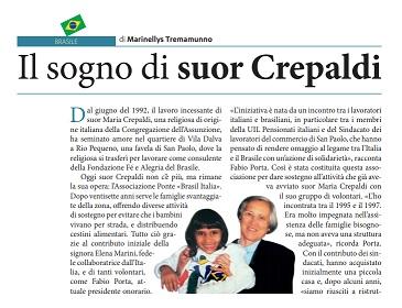 Il sogno di suor Crepaldi - di Marinellys Tremamunno