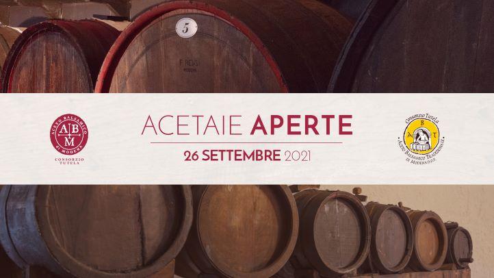 """""""ACETAIE APERTE"""": DOMANI NEL MODENESE L'EDIZIONE 2020"""