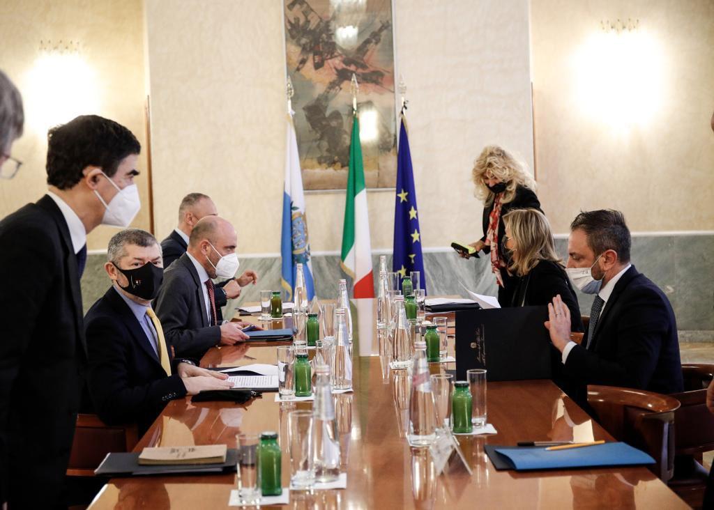 Farnesina: Scalfarotto incontra il Segretario di Stato di San Marino